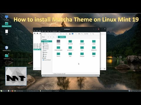 How To Install Matcha Theme on Linux Mint 19
