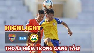Highlight Đăk Lăk vs XM Fico Tây Ninh - Thoát hiểm trong gang tấc