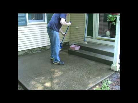 How To Clean Your Concrete Deck or Slab by Walt Barrett
