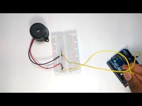 Piezo Buzzer with Arduino
