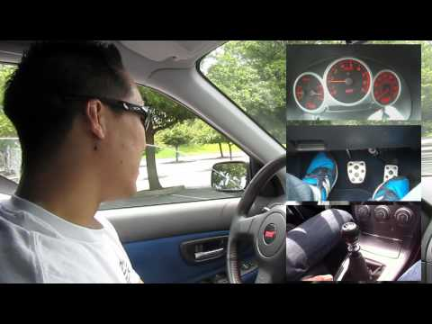 Tutorial: How to drive a stick - BASICS on a 2006 Subaru WRX STi