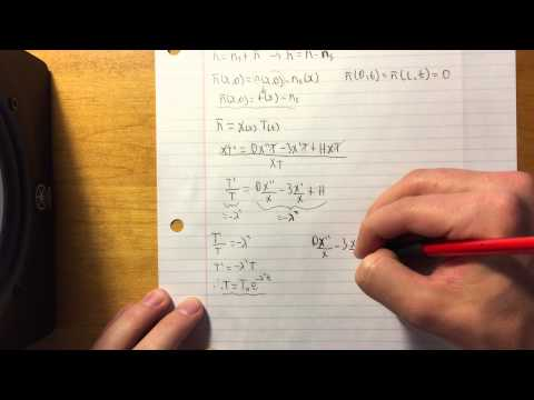 Problem #4 - PDE with Inhomogeneous Boundary Conditions