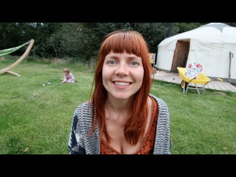 WE FOUND AN OFF GRID YURT PARADISE IN ENGLAND! | OFF GRID LIVING