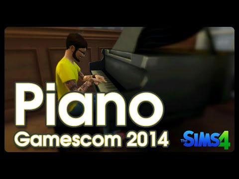 Gamescom 2014: Piano in The Sims 4