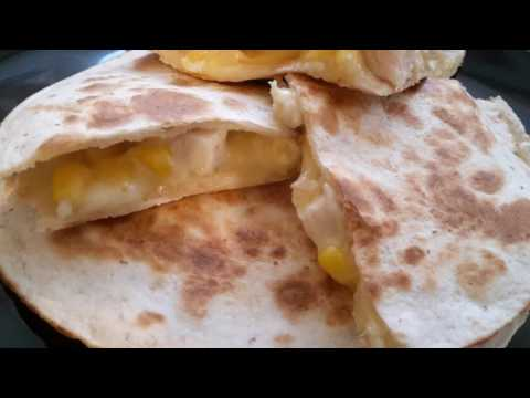 How to make quesadilla/ quick and easy recipe using wraps