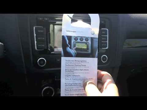 How to clean your  touch screen radio and navigation system