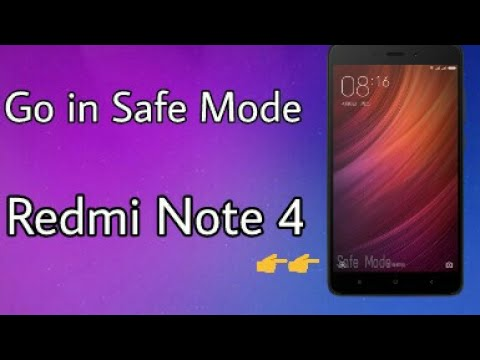 How To Go In Safe Mode In Redmi Note 4/Redmi 4/Mi A1/Redmi 3s Prime And Any Xiaomi Devices