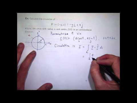 Circulation & line integrals