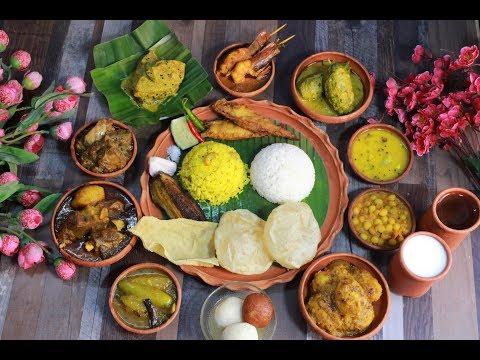 শুভ নববর্ষ|পহেলা বৈশাখ-এর থালী সাথে কচি পাঁঠার ঝোল এর রেসিপি|Bengali Mutton Curry|Kochi Pathar Jhol