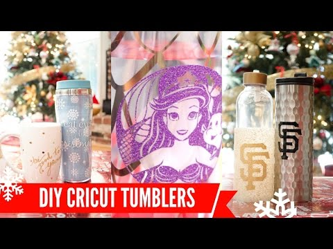 DIY Tumblers with the CRICUT!