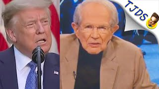 Pat Robertson Turns On Trump Over Protests!