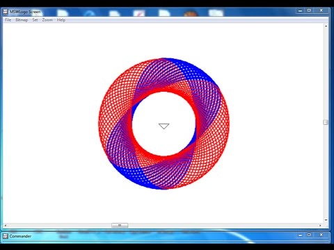 How to Create Multi Colour Ellipse in MSW Logo