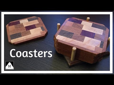 Easy DIY Scrap Wood End Grain Coasters