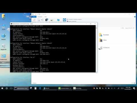 How to change your DNS, Gateway and IP address Using Command Prompt