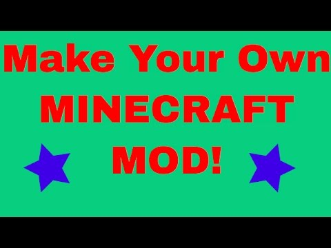 How to EASILY make a Minecraft Mod for 1.8.x WITHOUT coding