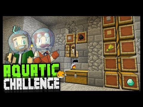 MAKING PROGRESS?! - Minecraft Aquatic Challenge - #6
