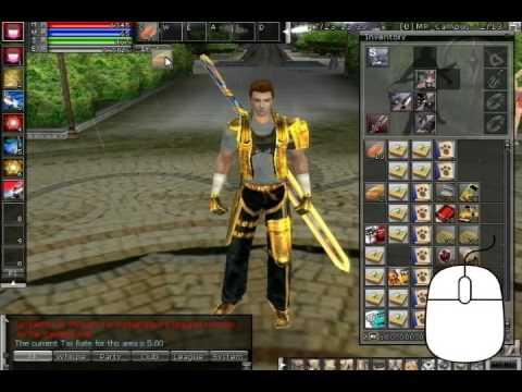 Ran Online Beginner's Guide : Basic Game Controls