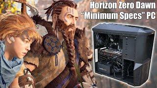 The Horizon Zero Dawn Minimum System Requirements Gaming PC