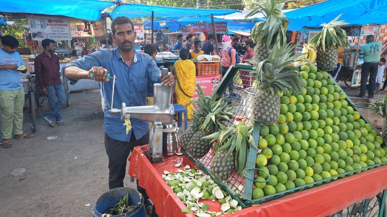 Indian Fastest Street Drinks Making | Amazing Cutting Skills | Indian Street Food
