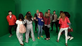 Jonas Brothers and Ellen Scare Fans