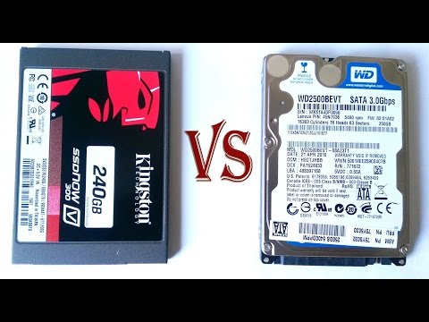 HDD vs SSD   Real Life Speed Test (2018)