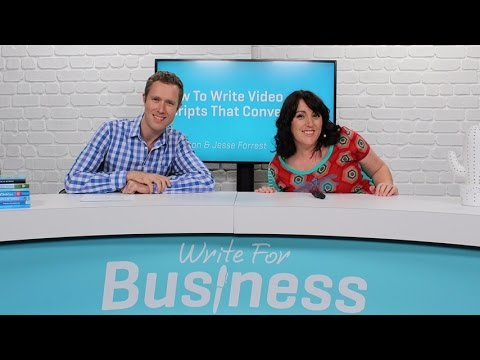 How To Write Video Scripts That Convert PREVIEW by Bizversity.com