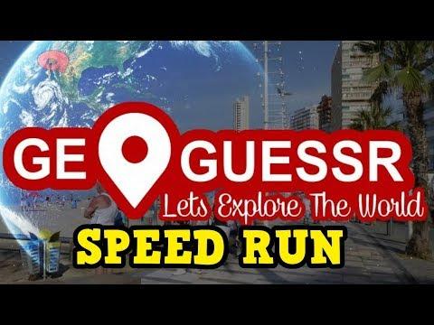GeoGussr Speed Run - UK, EU, World