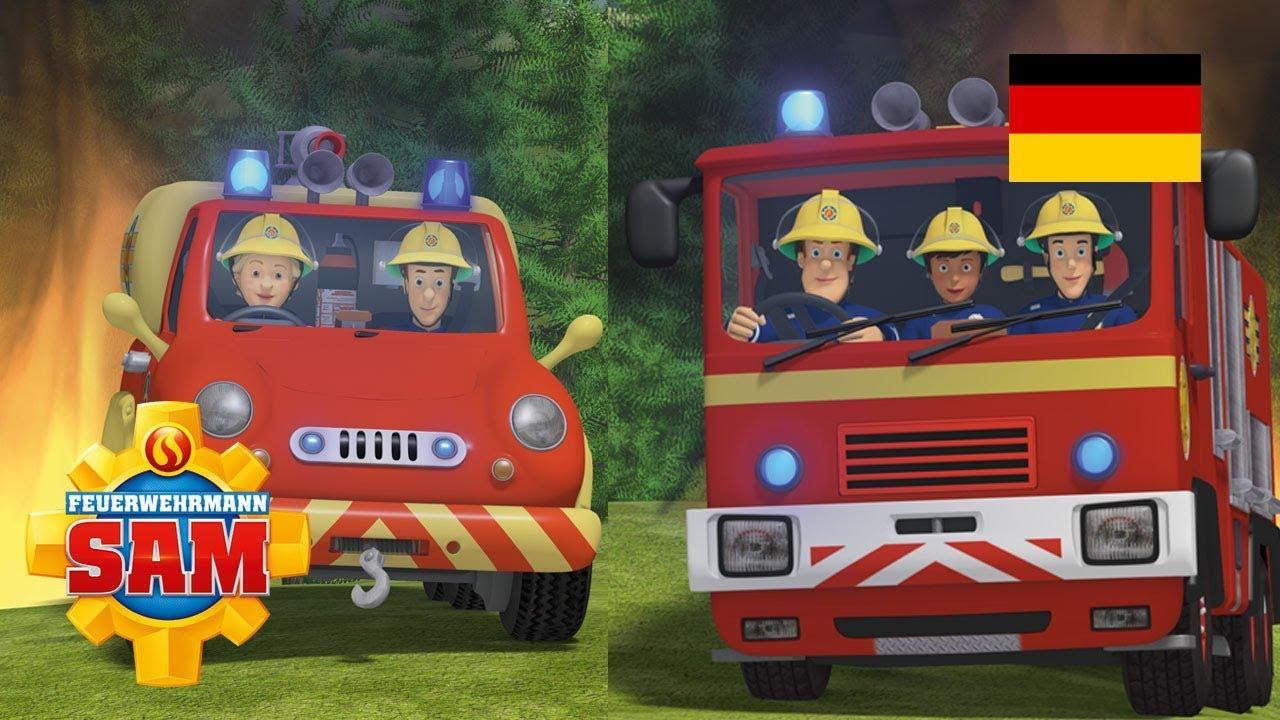 Feuerwehrmann Sam Deutsch Neue Folgen | Das Modellflugzeug \ Feuerwehrteam im Einsatz 🚒 Kinderfilm
