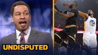 Chris Broussard reveals why LeBron James will finish with more points than Kevin Durant | UNDISPUTED