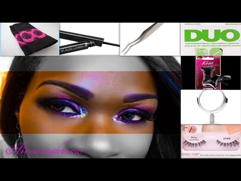 How To: Master Applying Lashes Like A Pro
