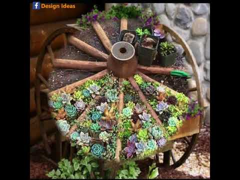 Incredible Designs Made From Wagon wheel
