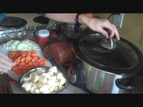 Quick Fix Crock Pot Boneless Eye of Round Roast