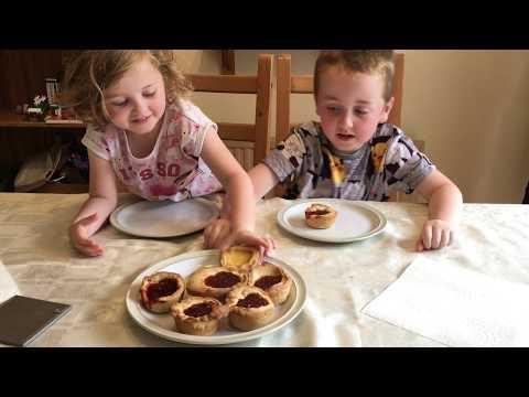 How to make Jam Tarts with Sam & Chloe
