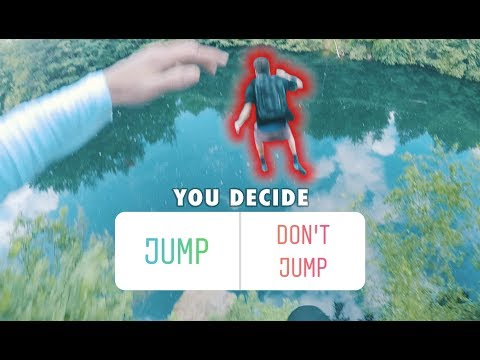 INSTAGRAM Followers control my DAY - Parkour and Cliff Jumping
