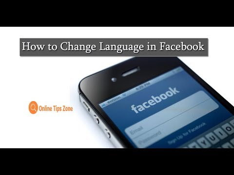 How to Change Language on Facebook App