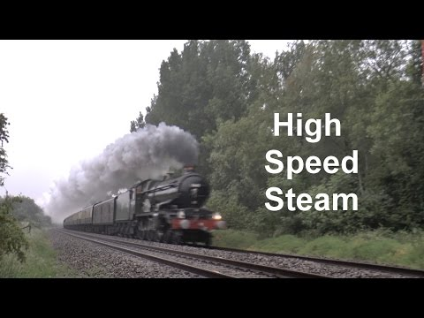 (HD) High speed 5043 Earl of Mount Edgcumbe 1Z54 13th June 2015