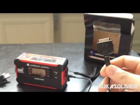 Ambient Weather Emergency Radio (WR-111A/B) Review - SHTF Radio For Preppers
