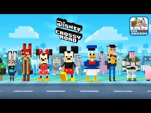 Disney Crossy Road - Return of the King... Mickey! (iOS/iPad Gameplay)