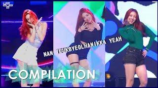 Download ITZY Yuna - Nan Teukbyeolhanikka Yeah COMPILATION (Dalla Dalla) Video