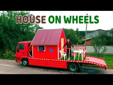 HOUSE ON WHEELS - Tiny House on Wheels - DIY