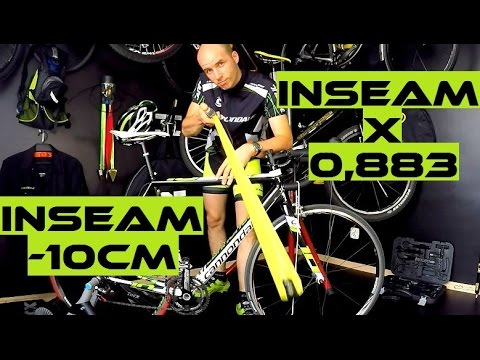 Bike Fit - How To Set Bicycle Saddle Height. COMMON MISTAKES. Bike Saddle Position. SickBiker Tips.