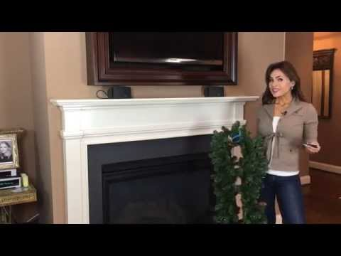 What You Need to Hang a Garland on Your Mantel for Christmas (Part 1 of 9)