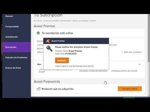 Cómo Activar Licencia de AVAST Premier 2018 Full Español