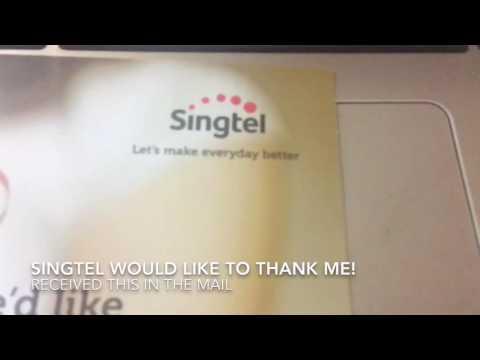 Singtel Broadband Upgrade For Free! #Singtel