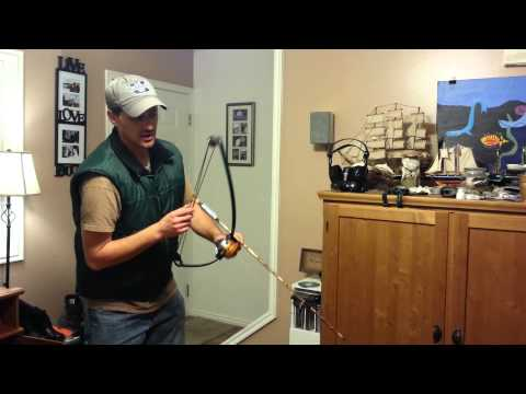 Homemade fishing bow