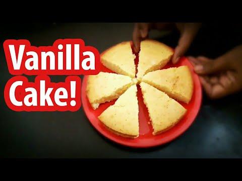 Vanilla cake   cake recipe in Tamil