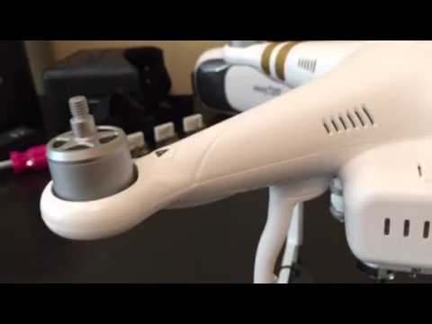 DJI Phantom - Stress Crack Repair - Super Glue and Baking Soda