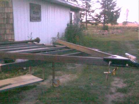 6x12 trailer 3500 lb axle i have been building