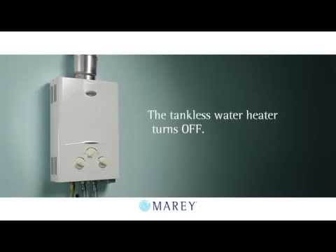 Marey Tankless Water Heaters - You can choose how you can save