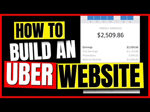 How To Make An Uber Website For More Referral Money (QUICKLY!)